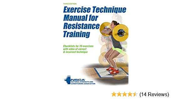 Amazon exercise technique manual for resistance training 3rd amazon exercise technique manual for resistance training 3rd edition with online video ebook nsca national strength conditioning association fandeluxe Images