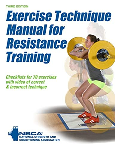 amazon com exercise technique manual for resistance training 3rd rh amazon com exercise technique manual for resistance training 3rd edition ebook exercise technique manual for resistance training 3rd edition