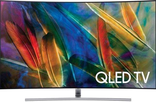 Samsung QN65Q7CAMFXZA 65-inch Curved 4K UHD Smart QLED TV - 3840 x 2160 - 240 MR - USB,HDMI - Black (Certified Refurbished)