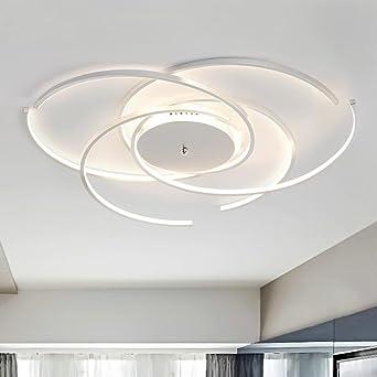 72W Deckenleuchte LED Wohnzimmer Lampe Moderne Elegante ...