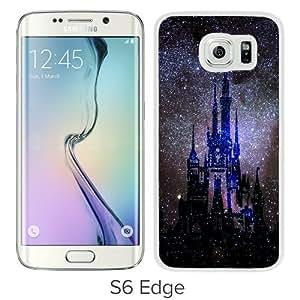Popular Sale Samsung Galaxy S6 Edge,beautiful Disney art White Unique Custom Samsung Galaxy S6 Edge Phone Case