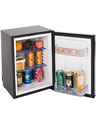 SMAD Electric Propane Fridge Compact RV Refrigerator, DC12V/AC110V/Lpg,1.4Cu ft