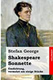Shakespeare. Sonnette, Stefan George and William Shakespeare, 1499542577