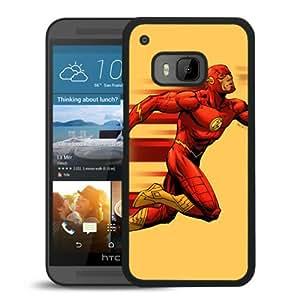 Fashion HTC ONE M9 Case,Flash Running Black HTC ONE M9 Screen Phone Case Luxury and Unique Design