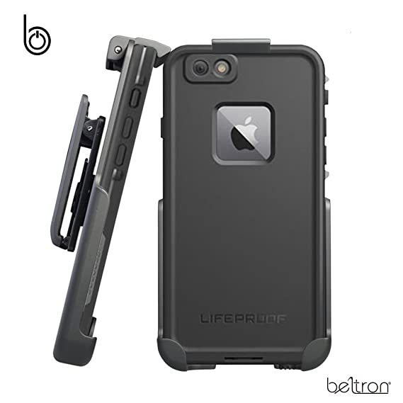 buy popular 56afb 48da1 BELTRON Belt Clip Holster for the LifeProof FRE Case - iPhone 6 / iPhone 6s  (case is not included)