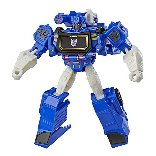 Transformers Cyberverse Action Attackers: Warrior Class Soundwave Action Figure Toy (Transformers Cyberverse Toys)