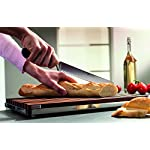 Wusthof Classic Bread Knife 6 Long serrated 9-inch blade with triangular tip best for bread slicing Forged high-carbon stainless steel blade, hand-honed for razor-like sharpness Traditional-style composition handle is triple-riveted for strength and permanence