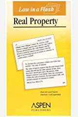 Law in a Flash: Real Property (Law in a Flash Cards) Cards