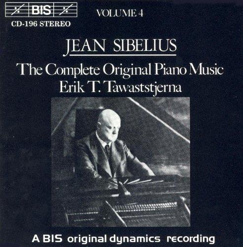 Complete Music Piano Original (Sibelius: Complete Original Piano Music, Vol. 4)
