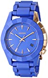 Nixon Women's A2881675-00 Monarch Japanese Quartz Blue Watch