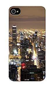Craigeggleston Case Cover Protector Specially Made For Iphone 5/5s Chicago Skyline From John Hancock