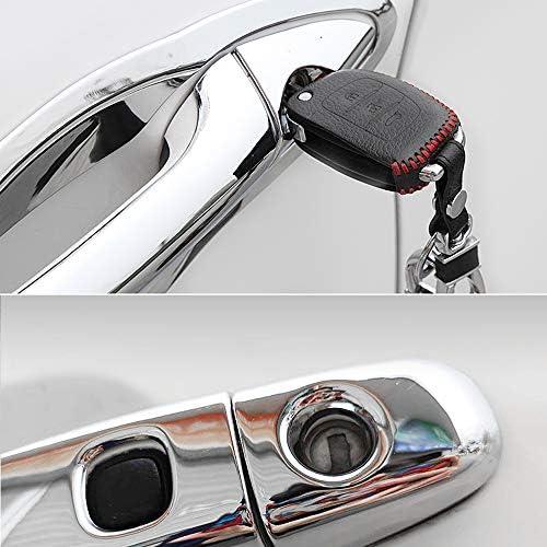 MK2 2014-2019 DYBANP Copri Maniglia per portiera Auto T9 per Peugeot 308 Copri Maniglie cromati per Auto Copri Maniglia per Porta Set Accessori per Lo Styling