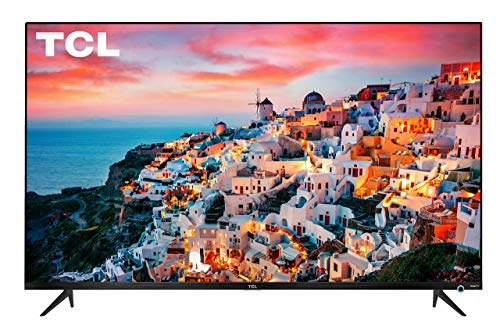 TCL 55″ Class 5-Series 4K UHD Dolby Vision HDR Roku Smart TV – 55S525 (Renewed)