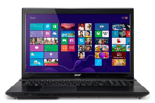 Price comparison product image Acer Aspire V3-772G-9829 17.3-Inch Laptop (2.2 GHz Intel Core i7-4702MQ Processor,  8GB DDR3,  1TB HDD,  Windows 8) Sophisticated Black