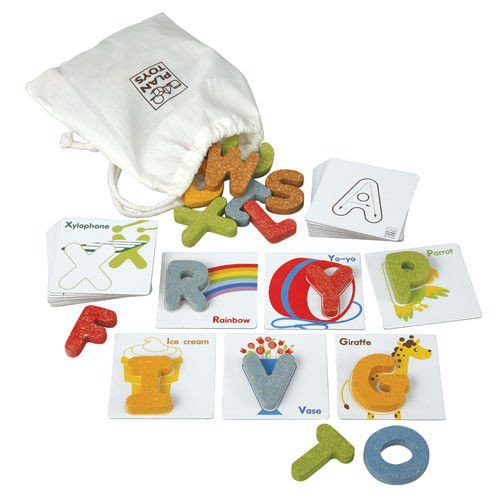 PlanToys Plan Preschool Alphabet A-Z Preschool  Version