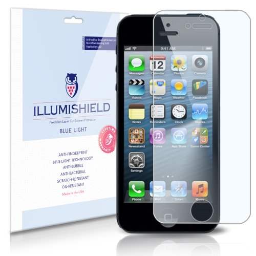 Illumishield Apple Iphone 5 5th Generation Hd Blue Light Uv