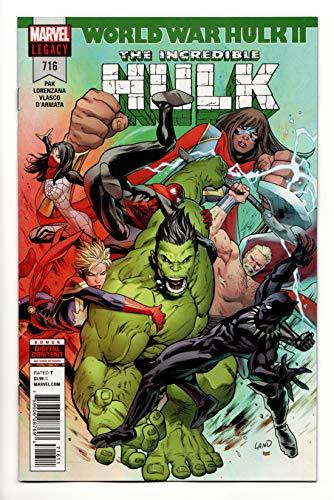 Incredible Hulk #716 (Marvel, 2018) VF/NM