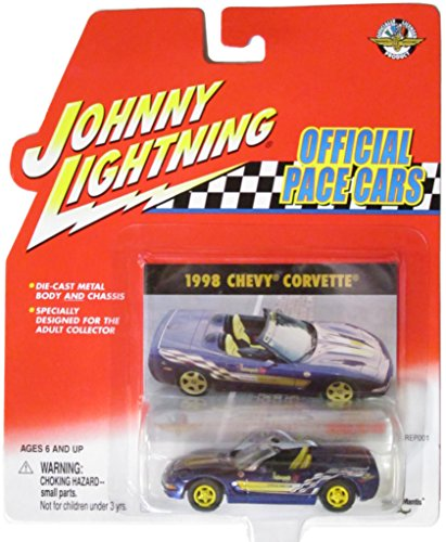Johnny Lightning Official Pace Cars 1998 Chevy Corvette