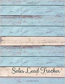 amazon com sales lead tracker sales tracker book 9781977792341
