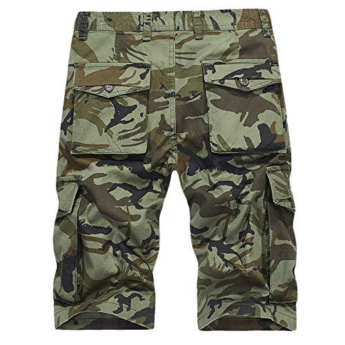 Camouflage Vêtements Fête Lannister Hommes Air Fashion Multicolor De Les Pantalons Poches Coton Multi Kaki Short Survêtement Été Occasionnels En Plein PwTPSOr