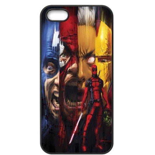 Apple Iphone 5 5s Case - Deadpool Kills the Marvel Universe TPU Bumper Iphone 5 5s (Iphone Marvel Case compare prices)