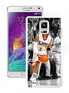 Perfect fit for your beloved phone,100% Brand New Allen Iverson White For Samsung Note 4 Case