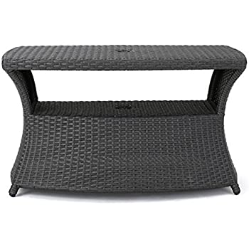 Amazon Com Berkeley Outdoor Wicker Side Table With