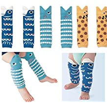 Wellwear 3 Pairs Baby Boy And Girl Leg Warmers ,Toddlers & Children (Boy (3 Pair))