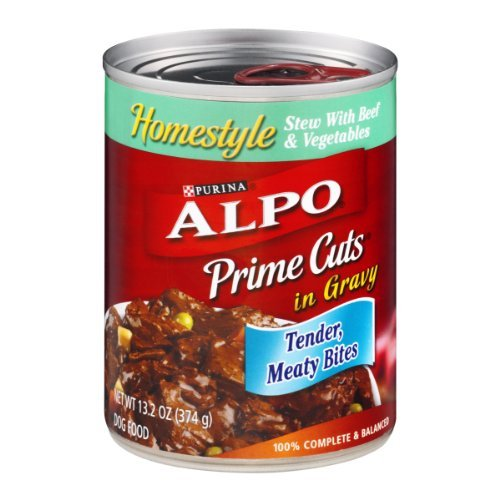 Dog Food, Homestyle Stew with Beef & Vegetables in Gravy, 13.2 OZ (Pack of 12)