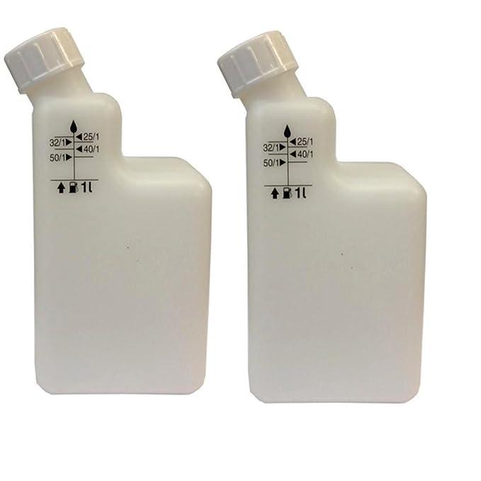 2 Botellas), 1 L 2 Tiempos Bote de Mezcla Pre Mix 40/1, 25/1, 32/1 ...
