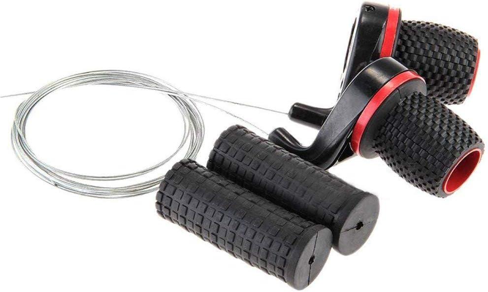 1 Pair Twist Bicycle Gear Shifters Bike Grip Speed Derailleur Bicycle Par SOH6