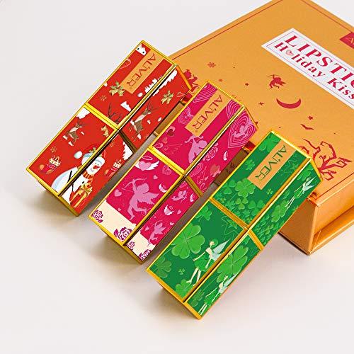 Matte Lipstick Set,3 PCS Moisturizer Smooth Lip Stick, lipstick Gift sets for Valentine