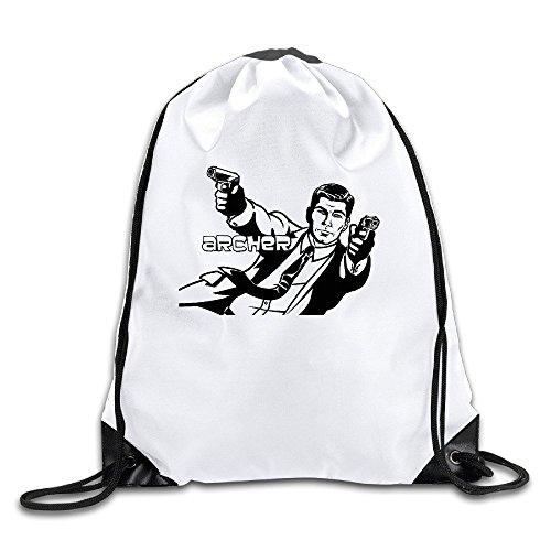 (Archer Sports Drawstring Backpack For Men & Women)