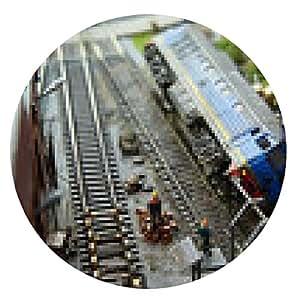 alfombrilla de ratón accidente locomotora - ronda - 20cm