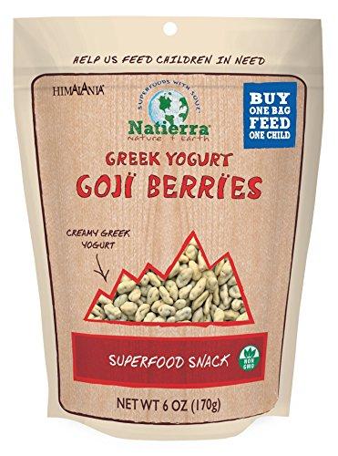 Natierra HimalaniaGreek Yogurt Covered Goji Berries, 6 Oz