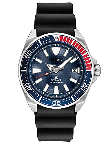 Dive Automatic Watch Seiko - Seiko Men's Prospex Automatic Diver Silicone Strap Watch
