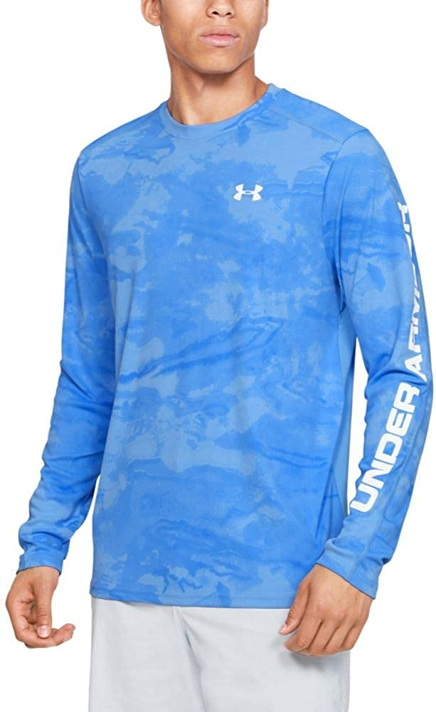 Under Armour Isochill Shore Break Camo Crew