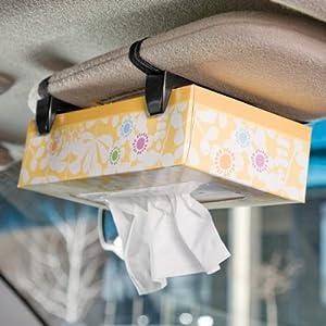Vehicle Tissue Box Holder for Visor Headrest or Car Armrest & Amazon.com: Vehicle Tissue Box Holder for Visor Headrest or Car ... Aboutintivar.Com
