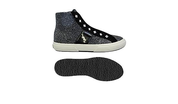 2795 Black Le 38 Sliponcotlamevarnw Superga Zapatos Amazon es 8F7Cqw