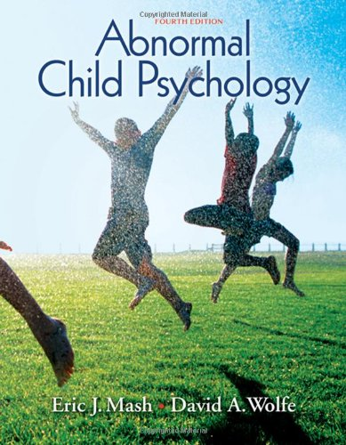 Abnormal Child Psychology (Available Titles CengageNOW)