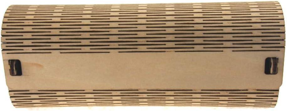 Mcottage Bambú Gafas de Sol Caja de Montaje Unisex Estuche Gafas Protección Completa: Amazon.es: Hogar