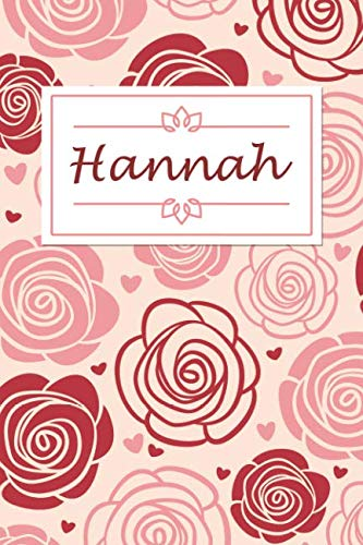 Hannah: Personalised Notebook / 120 Lined Pages / Perfect for journaling and writing notes. ()