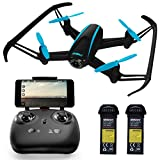 "Force1 Drones with Camera Live Video - ""U34W Dragonfly"" WiFi Drone with Camera Live Video + Extra RC Drone Battery and FPV Camera Drone Capability (Certified Refurbished)"