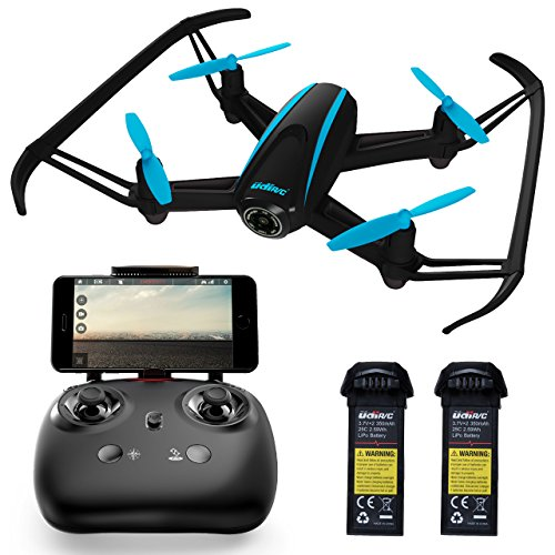 """Force1 Drones with Camera Live Video - """"U34W Dragonfly"""" WiFi Drone with Camera Live Video + Extra RC Drone Battery and FPV Camera Drone Capability (Certified Refurbished) by Force1"""