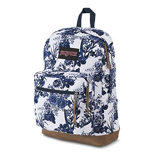 Amazon.com  JanSport Right Pack Expressions Laptop Backpack - White Artist  Rose  Computers   Accessories ef409ba764fed