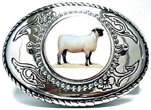 Goat Billies Sheep Nannies Bucks Kids Boer Large Casual Belt Buckle Made in USA