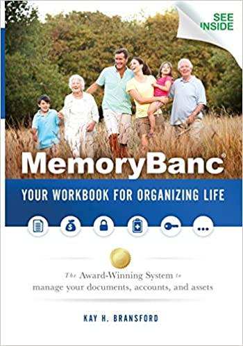 MemoryBanc: Your Workbook For Organizing Life: Kay H. Bransford ...