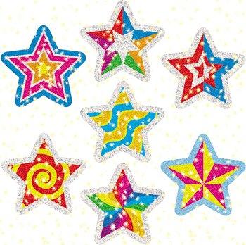 Dazzle Stickers Stars (DAZZLE STICKERS STAR POWER 75-PK)