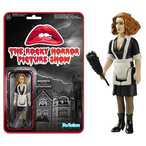 The Rocky Horror Picture Show Magenta ReAction 3 3/4-Inch Retro Action Figure