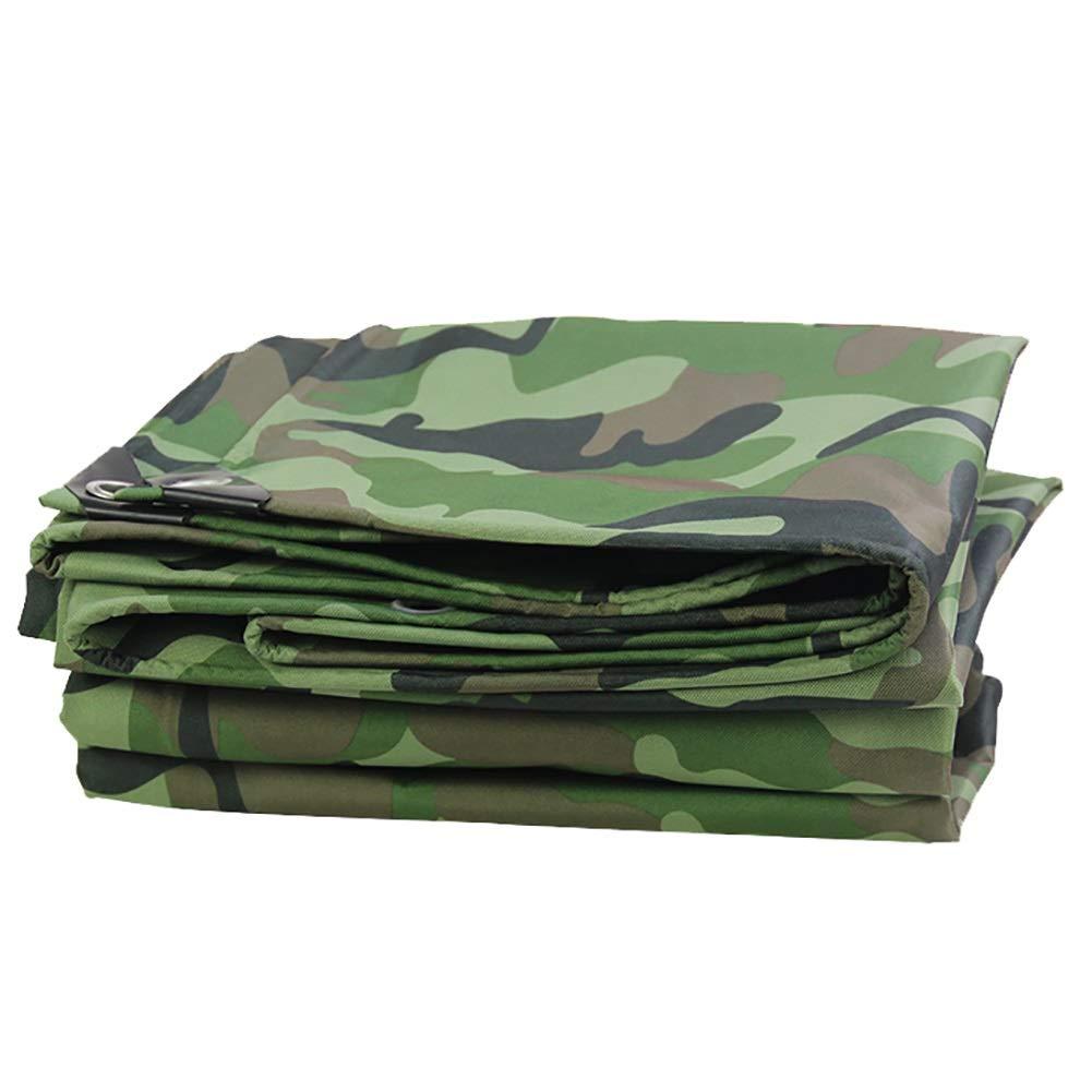 3×3m CAOYU Tissu imperméable de bÂche imperméable épaisse de bÂche avec la Toile perforée Pliable